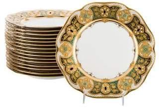 Set of 16 Lamm Dresden Dinner Plates