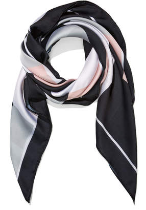 Portmans Australia Colour Block Square Scarf