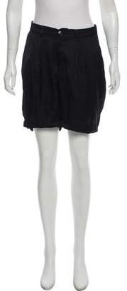 Zucca Mid-Rise Knee-Length Shorts