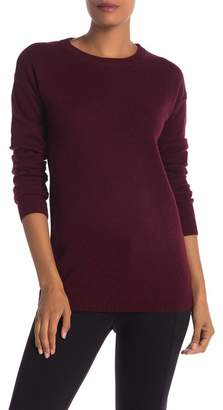 Catherine Malandrino Crew Neck Cashmere Long Sleeve Sweater