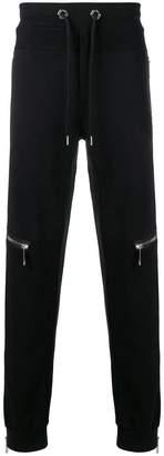 Philipp Plein zip trim sweatpants