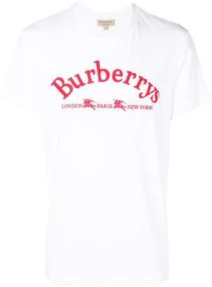 Burberry Burberrys logo print T-shirt