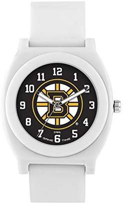 Game Time 'Fan' Quartz Plastic and Rubber Casual Watch