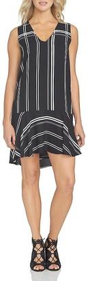 1.STATE Sleeveless Flounce Hem Dress $119 thestylecure.com