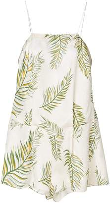 Forte Forte fern leaf playsuit