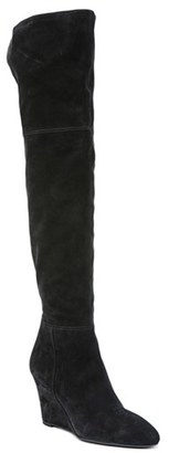 Via Spiga 'Kennedy' Wedge Over the Knee Boot $495 thestylecure.com