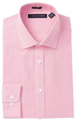 Tommy Hilfiger Washed Gingham Slim Fit Oxford Dress Shirt