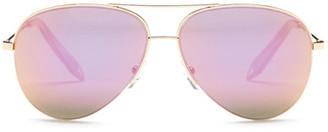 Victoria Beckham Women&s Metal Aviator Sunglasses $345 thestylecure.com