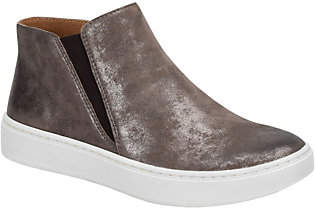 Sofft Slip-On High-Top Leather Sneakers - Britt