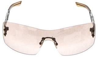 b48d7d91d6812 Christian Dior Tinted Shield Sunglasses