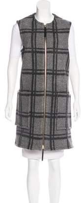 Marni Plaid Wool Vest