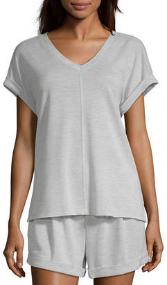 Ambrielle Womens Pajama Top