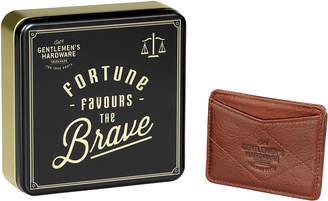 Gentlemen's Hardware Leather Card Wallet