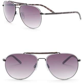 Joe's Jeans Aviator 59mm Sunglasses