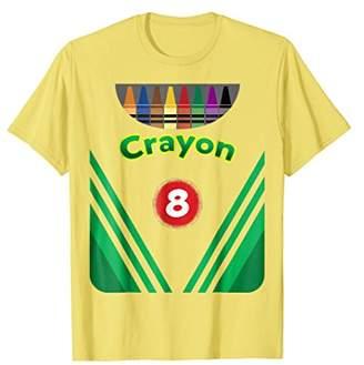 Kids Crayon Costume Crayon Box Halloween Costume shirt