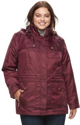 Details Plus Size 2-in-1 Jacket