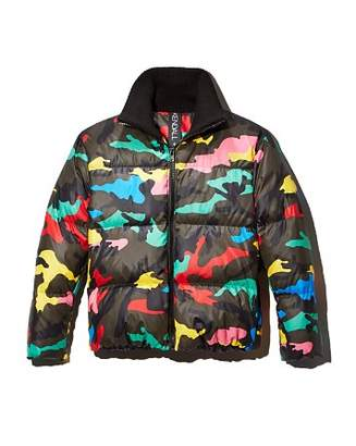 KENDALL + KYLIE Camo Puffer Jacket - 100% Exclusive