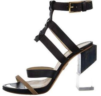 Maiyet Leather Multistrap Sandals