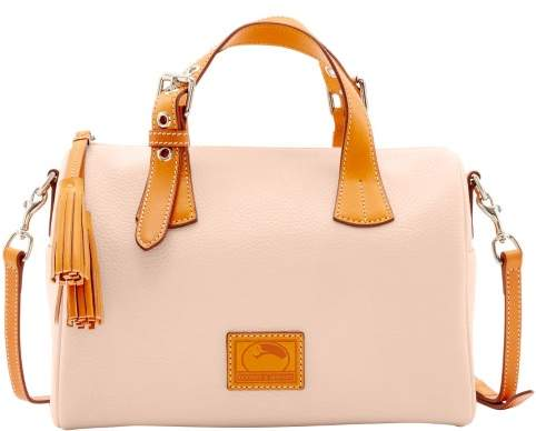 Dooney & Bourke Patterson Leather Kendra Satchel - BLUSH - STYLE