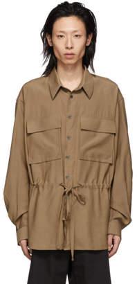 Joseph Brown Viscose Mandelieu Shirt