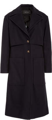 Cédric Charlier Oversized Wool-Blend Coat