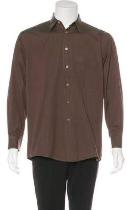 Burberry Burberry's Woven Button-Up Shirt