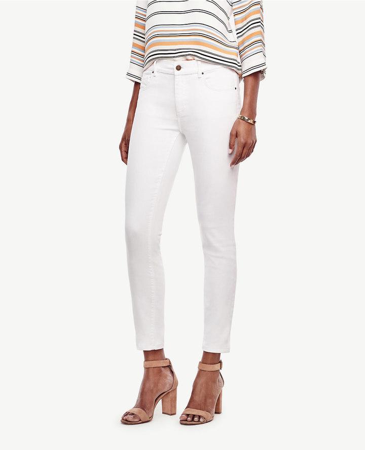 Ann TaylorTall Curvy Skinny Ankle Jeans