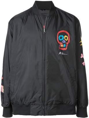 Puma Skull print bomber jacket
