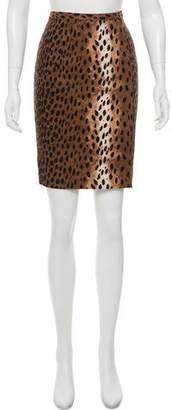 MICHAEL Michael Kors Animal Print Pencil Skirt