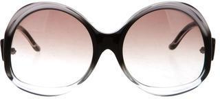 Balenciaga Balenciaga Oversize Gradient Sunglasses