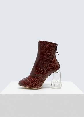 Ellery Croc Embossed Revolution Boot