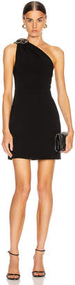 Miu Miu One Shoulder Mini Dress in Black | FWRD