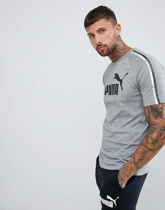 Puma Taping T-Shirt In Gray 85258903