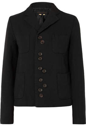 Comme des Garcons Twill Jacket - Black