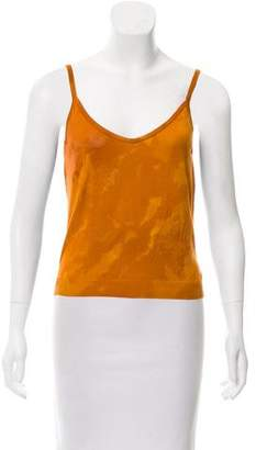 John Galliano Sleeveless Knit Top