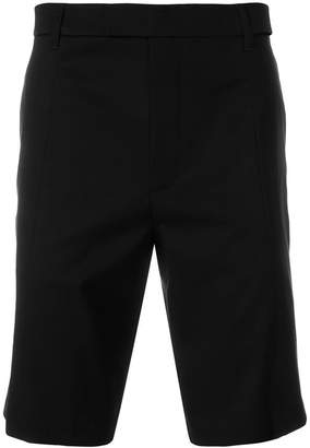 Helmut Lang cut out tailored shorts