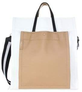 3.1 Phillip Lim Leather Accordion Tote Bag