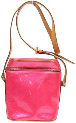 Louis Vuitton Pink Patent leather Handbag