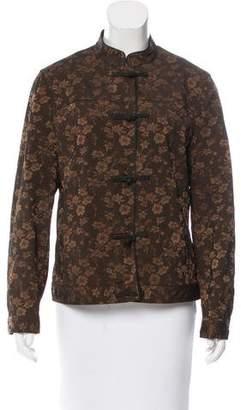 Philosophy di Alberta Ferretti Lightweight Oriental Style Jacquard Jacket