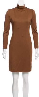 Akris Cashmere-Blend Sheath Dress