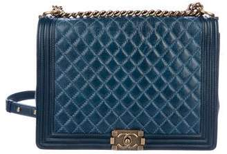 Chanel Large Quilted Boy Bag