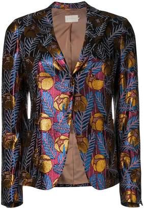 L'Autre Chose floral print blazer
