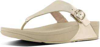 FitFlop Skinny Leather Toe-Thong Sandals