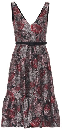 Erdem Gaby floral jacquard dress