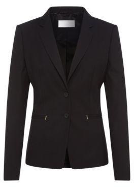 Hugo Boss Jimondi Wool Diamond Blazer 2 Patterned $595 thestylecure.com