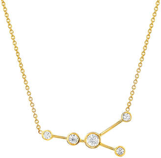Logan Hollowell Cancer Diamond Constellation Necklace
