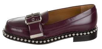 Chloé Chain Embellished Leather Loafers w/ Tags