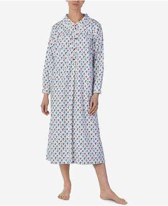 Lanz Of Salzburg Printed Cotton Flannel Nightgown d742a8a29