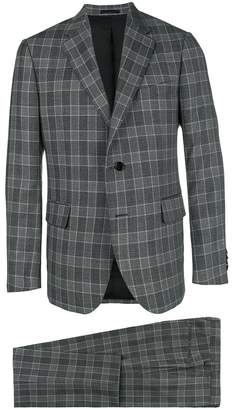 Versace checked two-piece suit
