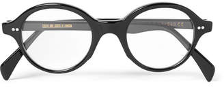 Cutler and Gross Round-Frame Acetate Optical Glasses